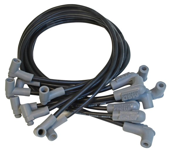 35603 - Wire Set, SC Blk, BB Chevy for use with HEI Tower Cap Image