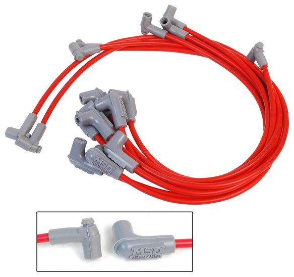 35659 - Super Conductor Spark Plug Wire Set, Small Block Chevy w/HEI Cap Image