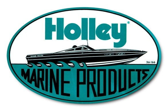 36-166 - Holley Marine Decal Image