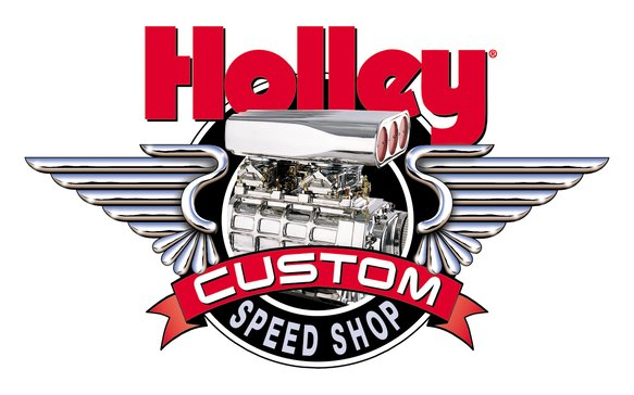 36-279 - Holley Custom Speed Shop Decal Image