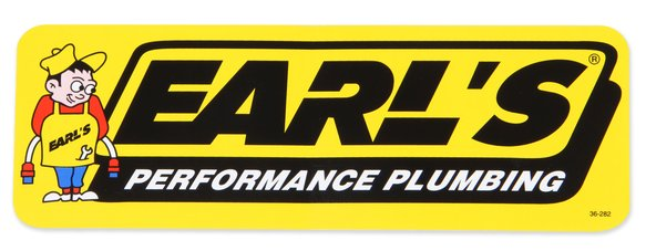 36-282 - Earls Plumbing Decal Image
