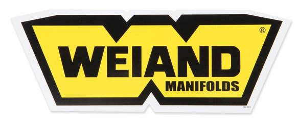 36-301 - Weiand Manifolds Decal Image