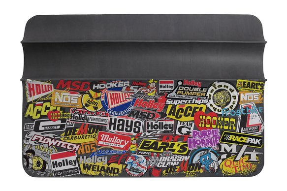 36-445 - Holley/MSD Sticker Bomb Fender Cover Image
