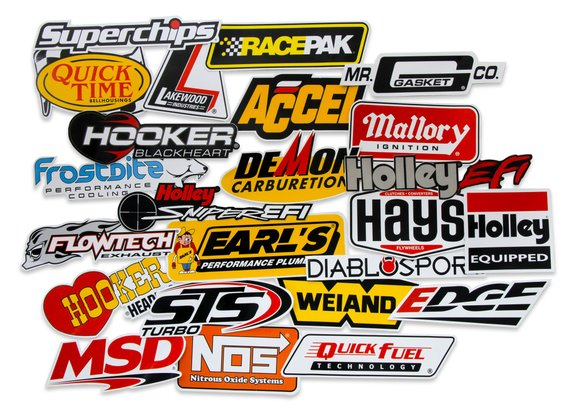 36-462 - Holley Go Fast Sticker Pack Image