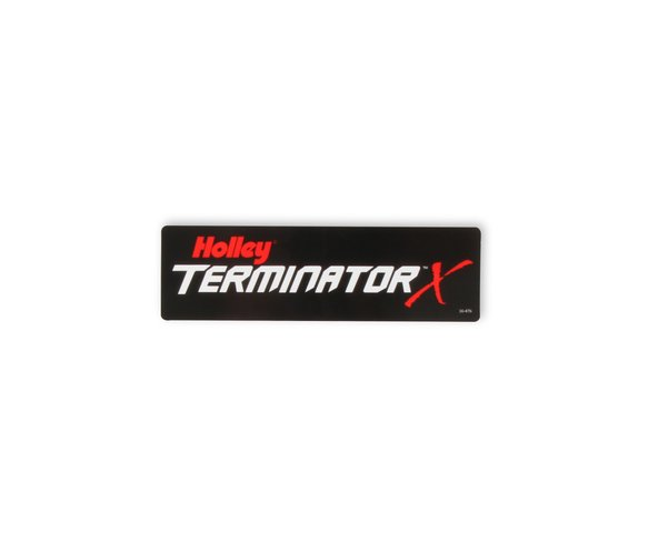 36-476 - Holley Terminator X Decal Image
