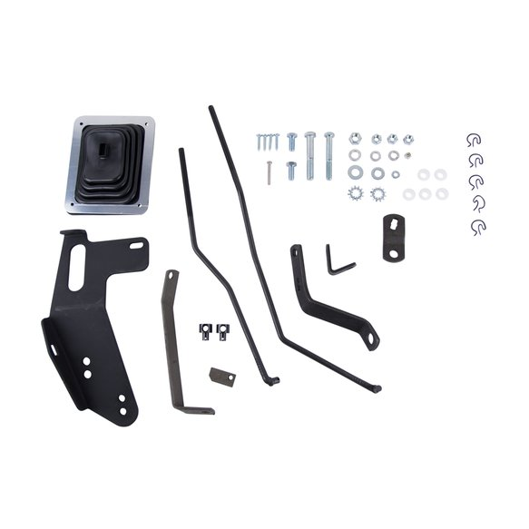 3670006 - Hurst Mastershift 3-Speed Installation Kit - GM Image