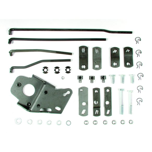 3738616 - Hurst Street Super Shifter 4-speed Installation Kit - GM Image