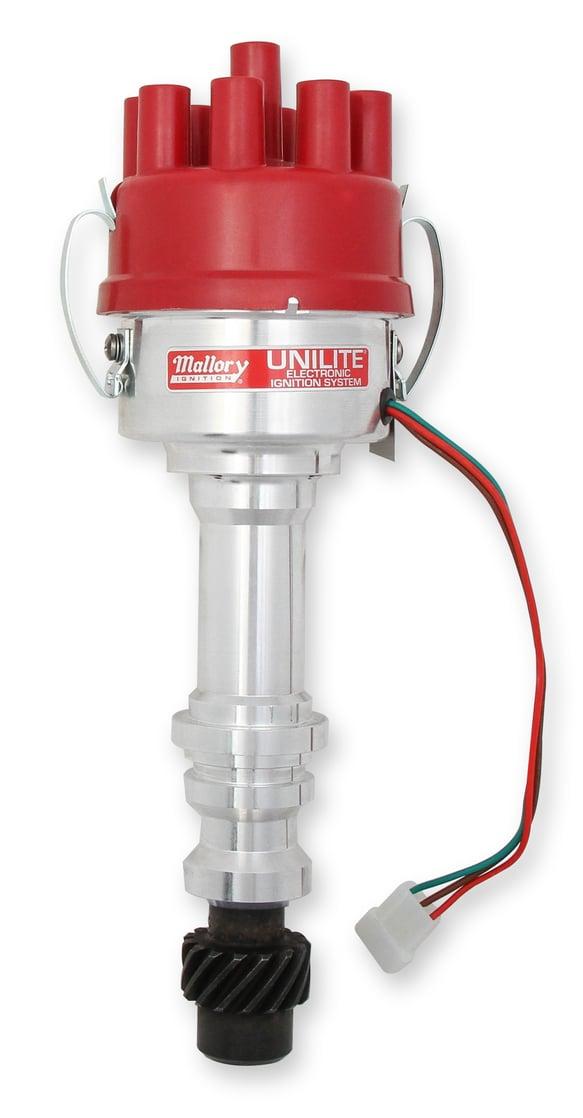 3763401 - Mallory Unilite Distributor - Oldsmobile 330-455 Image