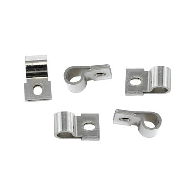 377774-C - Scott Drake Underhood Turn Signal Harness Clips (Chrome) Image