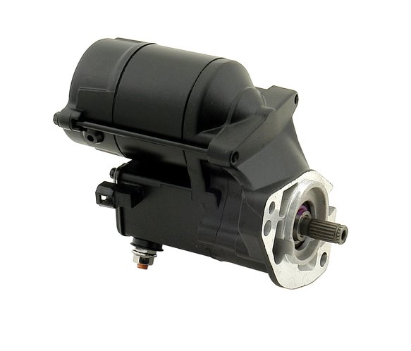 40006B - Ultra Tork Starter for Harley - Black Image
