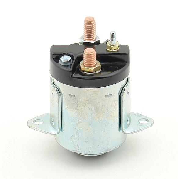 40114 - Starter Solenoid - replaces 31489-79B-Fits 5 speed models from 80-88 - Zinc finish Image