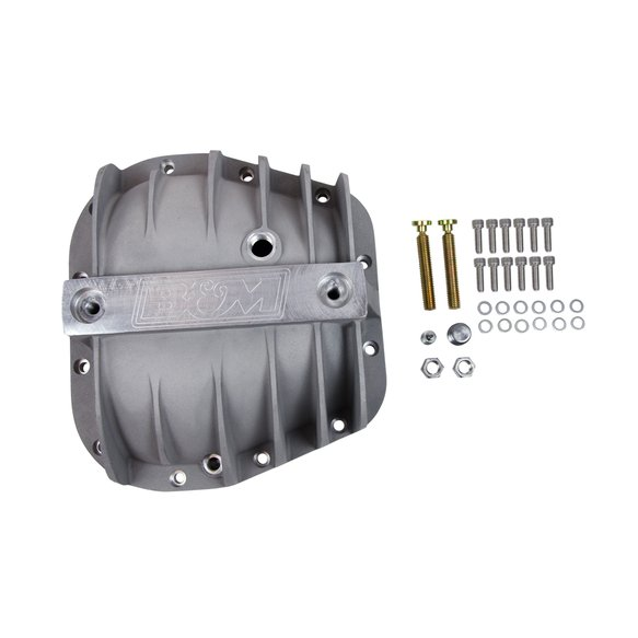 40298 - B&M Hi-Tek Aluminum Differential Cover for Ford 9.75-inch - additional Image