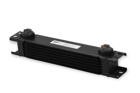 407ERL - Earls UltraPro Oil Cooler - Black - 7 Rows - Wide Cooler - 10 O-Ring Boss Female Ports Image
