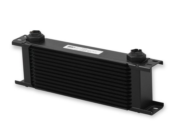 413ERL - Earls UltraPro Oil Cooler - Black - 13 Rows - Wide Cooler - 10 O-Ring Boss Female Ports Image