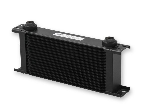 416ERL - Earls UltraPro Oil Cooler - Black - 16 Rows - Wide Cooler - 10 O-Ring Boss Female Ports Image