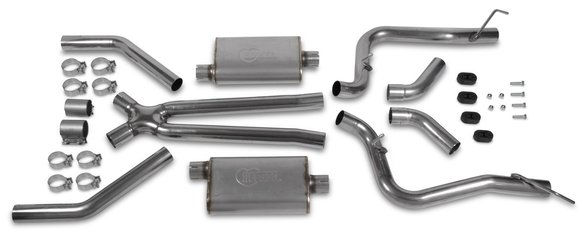 70501320-RHKR - Hooker BlackHeart Header Back Exhaust System Image