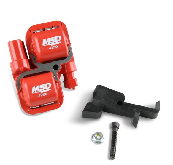 4250 - MSD Blaster Power Sports Coil, Red Image