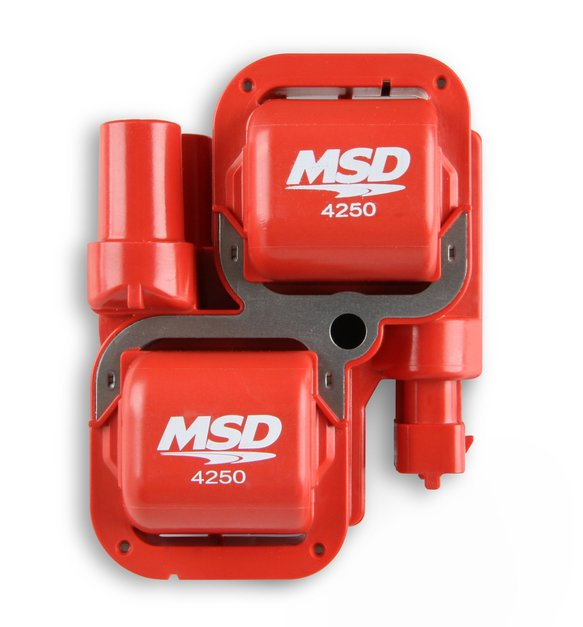 4250 - MSD Blaster Power Sports Coil, Red - additional Image