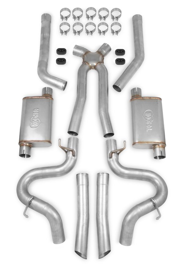 70501364-RHKR - Hooker BlackHeart Header Back Exhaust System Image