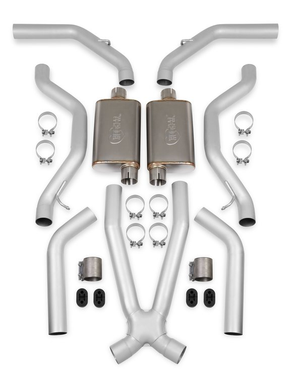 BH14249 - Hooker BlackHeart LS SWAP Header Back Exhaust System - Stainless Image