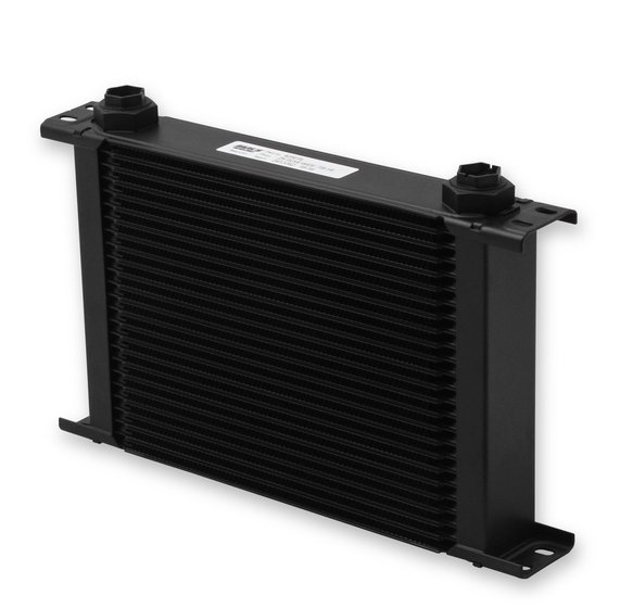 425ERL - Earls UltraPro Oil Cooler - Black - 25 Rows - Wide Cooler - 10 O-Ring Boss Female Ports Image