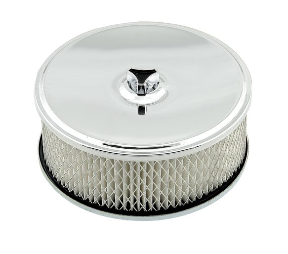4346 - Mr. Gasket Air Filter Assembly - Chrome Image