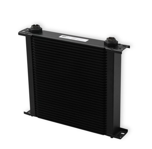 434ERL - Earls UltraPro Oil Cooler - Black - 34 Rows - Wide Cooler - 10 O-Ring Boss Female Ports - default Image