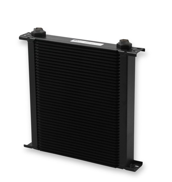 440ERL - Earls UltraPro Oil Cooler - Black - 40 Rows - Wide Cooler - 10 O-Ring Boss Female Ports Image