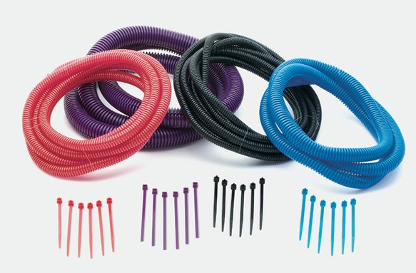 4506 - Flexible Tubing and Tie Strap Kit - Wire Cover Kit - 12