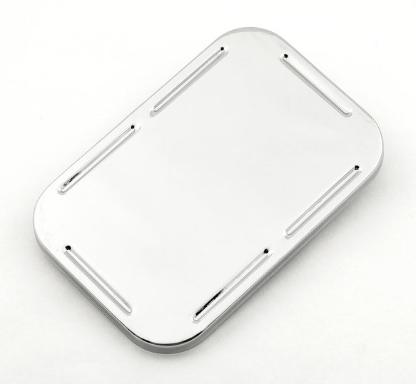 4573 - CHROME MASTER CYLINDER COVER-GM,SNAP ON Image