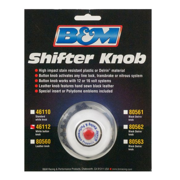 46112 - Shifter Accessory, Button Knob - additional Image