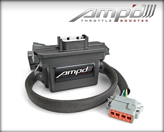 48862 - Amp'D Throttle Booster with Power Switch 2007-2018 Jeep JK Gas Image
