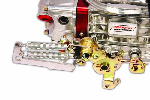 49-3QFT - Throttle Return Spring Kit For Square Flange 4 BBL Carburetors Image