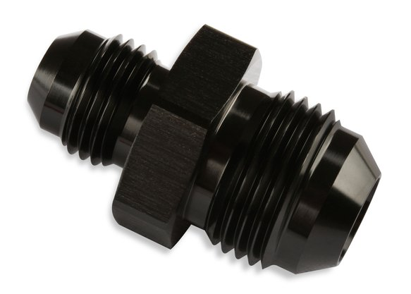 491912-BL - Mr Gasket -6 Male To -8 Male Union Reducer Black Image