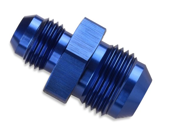 491914 - Mr. Gasket -10 AN Male To -6 AN Male Union Reducer - Blue Image