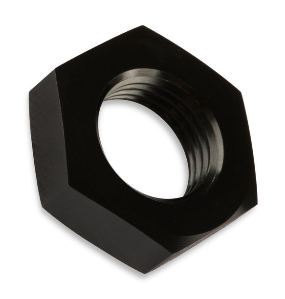 492404-BL - Mr. Gasket -4 AN Bulkhead Nuts (2) Black - additional Image
