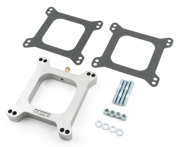 4945 - Carburetor Spacer Kit - Open Center - Aluminum - 1