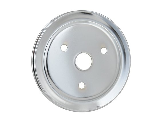 4972 - CHROME CRANK PULLEY-SBC Image
