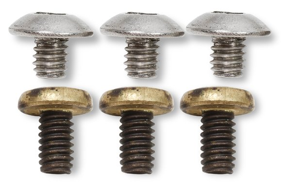 5-6-10QFT - Throttle Plate Screws Standard Phillips Head Image