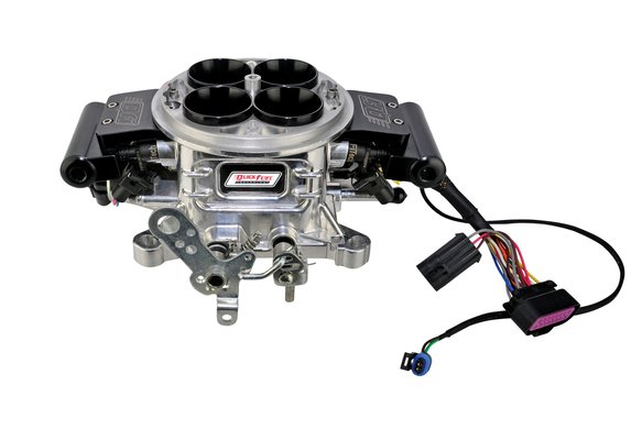 50-5017QFT - QFI-500 Throttle Body Assembly (Polished Aluminum) Image