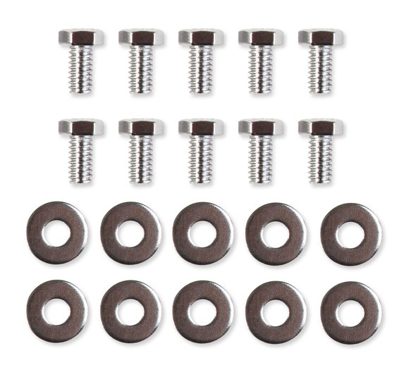 5008 - Timing Cover Bolt Set - Chrome - Chevrolet Small Block & Big Block Image