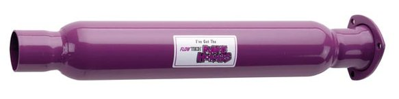 50230FLT - Flowtech Purple Hornies Glasspack Image