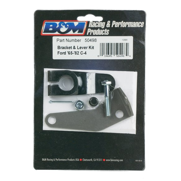 50498 - B&M Bracket and Lever Kit for C4 Automatic Transmissions - additional Image