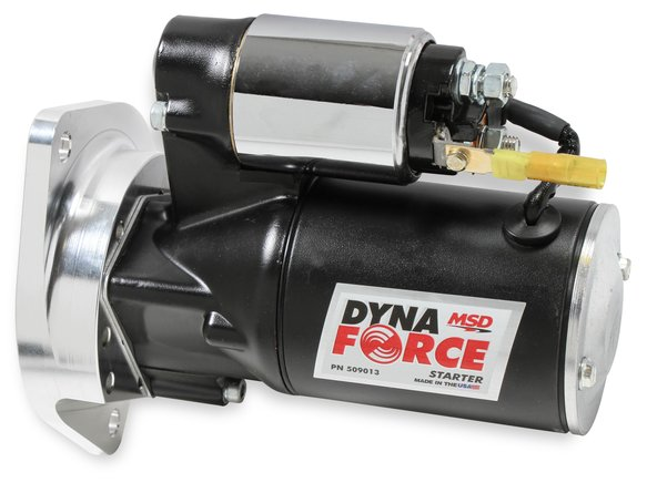 509013 - MSD Black DynForce Starter - Ford Small Block with 3/8