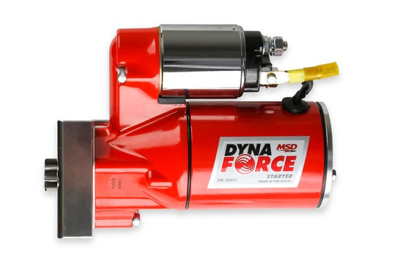 50951 - MSD Red DynaForce Starter - Chevy Small Block and Big Block - additional Image