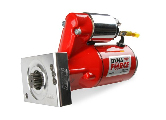 MSD Red DynaForce Starter - Chevy Small Block and Big Block