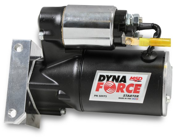 50973 - Black DynaForce Starter, Pont/Olds 326,455 Image