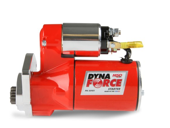 50981 - MSD Red DynaForce Starter - Chrysler 318 to 440 cubic inch engines - additional Image
