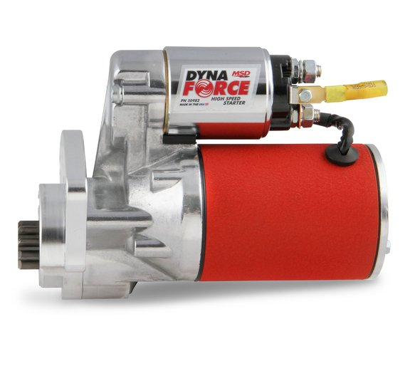 50982 - MSD Red DynaForce Starter - Chrysler 318 to 440 cubic inch engines - additional Image