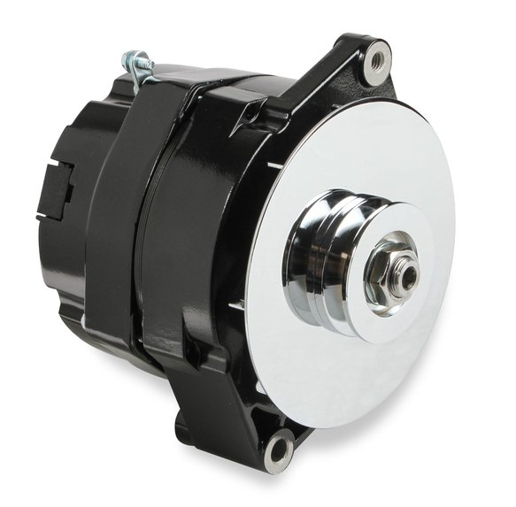51200BG - Alternator - GM 1971-86 - 100 AMP - Black Finish Image
